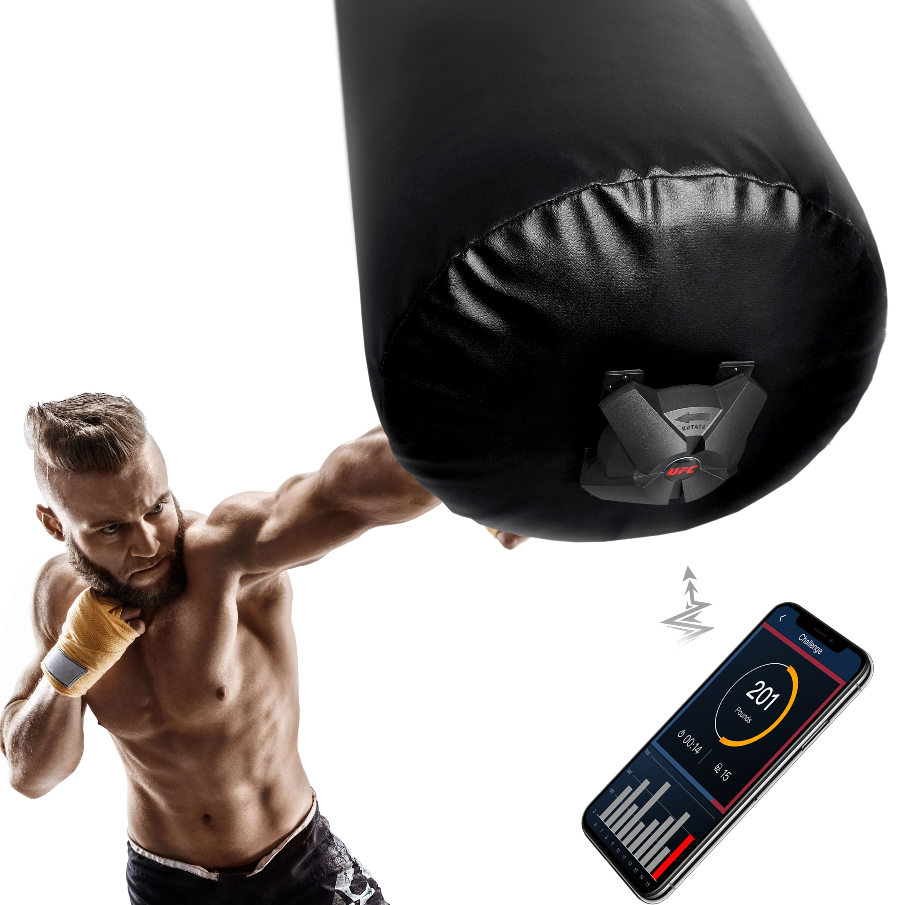 UFC Force Tracker Combat Strike Heavy Bag Attachment by TRI-GREAT USA CORP.