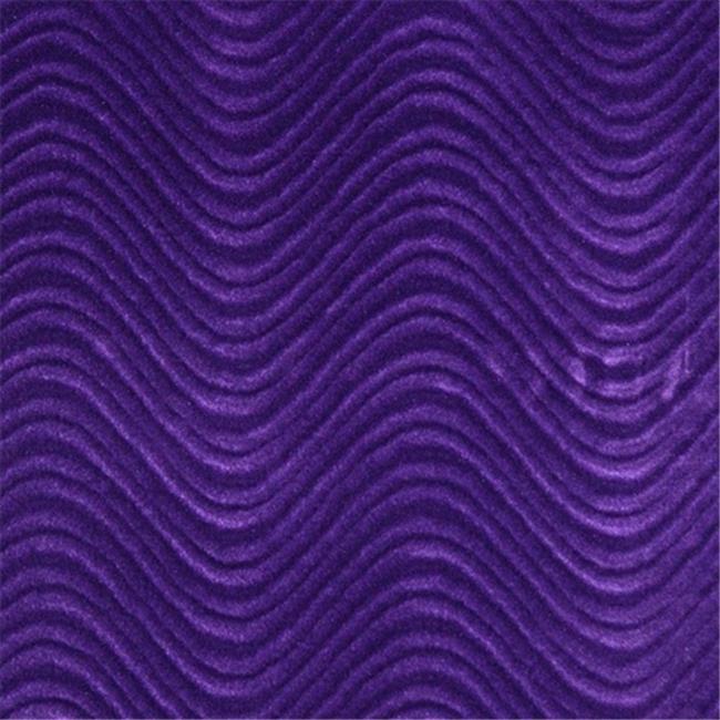 Designer Fabrics C840 54 in. Wide Purple, Classic Velvet Swirl Automotive, Residential And Commercial Upholstery Velvet