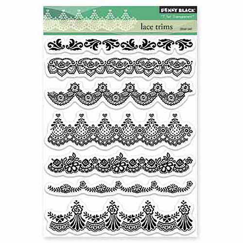 "Penny Black Clear Stamps, 5"" x 7.5"" Sheet"