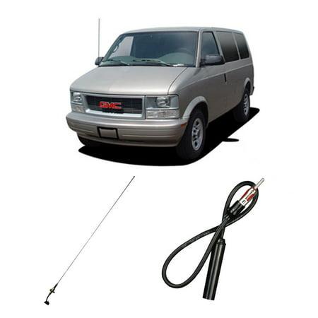 GMC Safari Mini Van 1985-2005 Factory Replacement Radio Stereo Custom Antenna (Gmc Safari Van Specs)