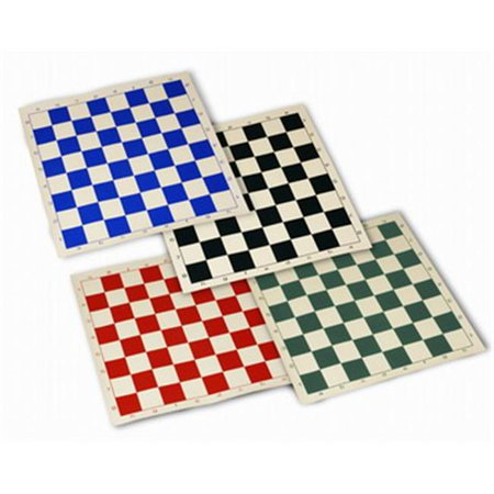 Roll Up Chess Mat 20 Inch - Blue