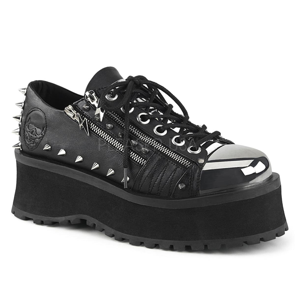 GRAVEDIGGER-04, 2 3/4'' Platform Lace-Up Shoe