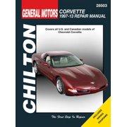Chevrolet Corvette. '97-'13