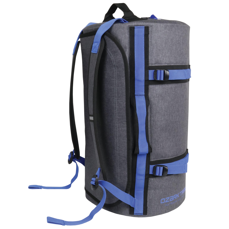 Ozark Trail Premium Coated Duffel, Grey
