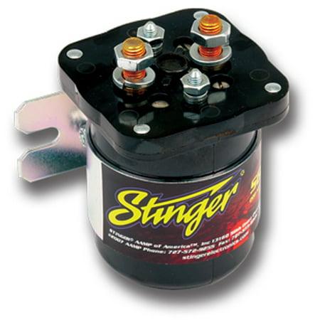 STINGER SGP32 PRO 200 AMP Battery Isolator Dual (Top Dual Purpose Battery)
