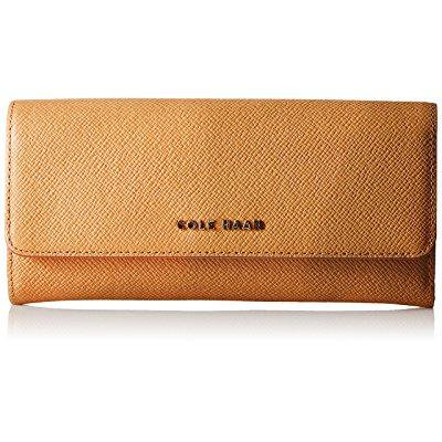 Cole Haan Emilia Flap Wallet  Pecan Toasted Almond  One Size