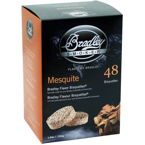 Bradley Mesquite Bisquettes 48 Pack