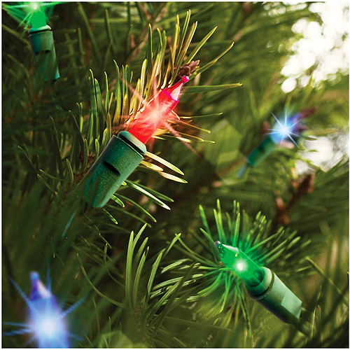 Holiday Time 16 Function Memory Christmas Lights Multi, 150 Count