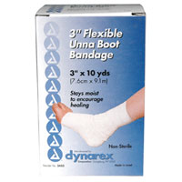 Unna Boot Flexible 3 Inch Bandage Of Size: 3 Inch X 10 Yards, Non-Sterile, #3453 - 1 Ea