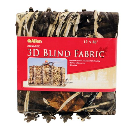 Camouflage Leaf Blind (Camo Omni-Tex Leaf Die-Cut Blind Fabric, MAX-4, 56