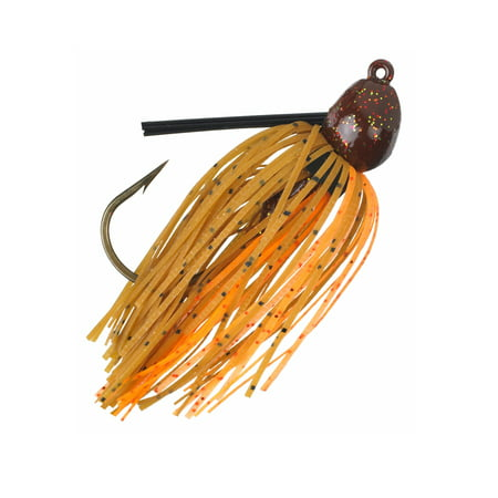 Strike King Bitsy Bug Jig, Pumpkin Crawfish