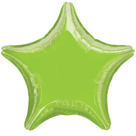 Anagram Metallic Star Jr Shape Solid Mylar 19