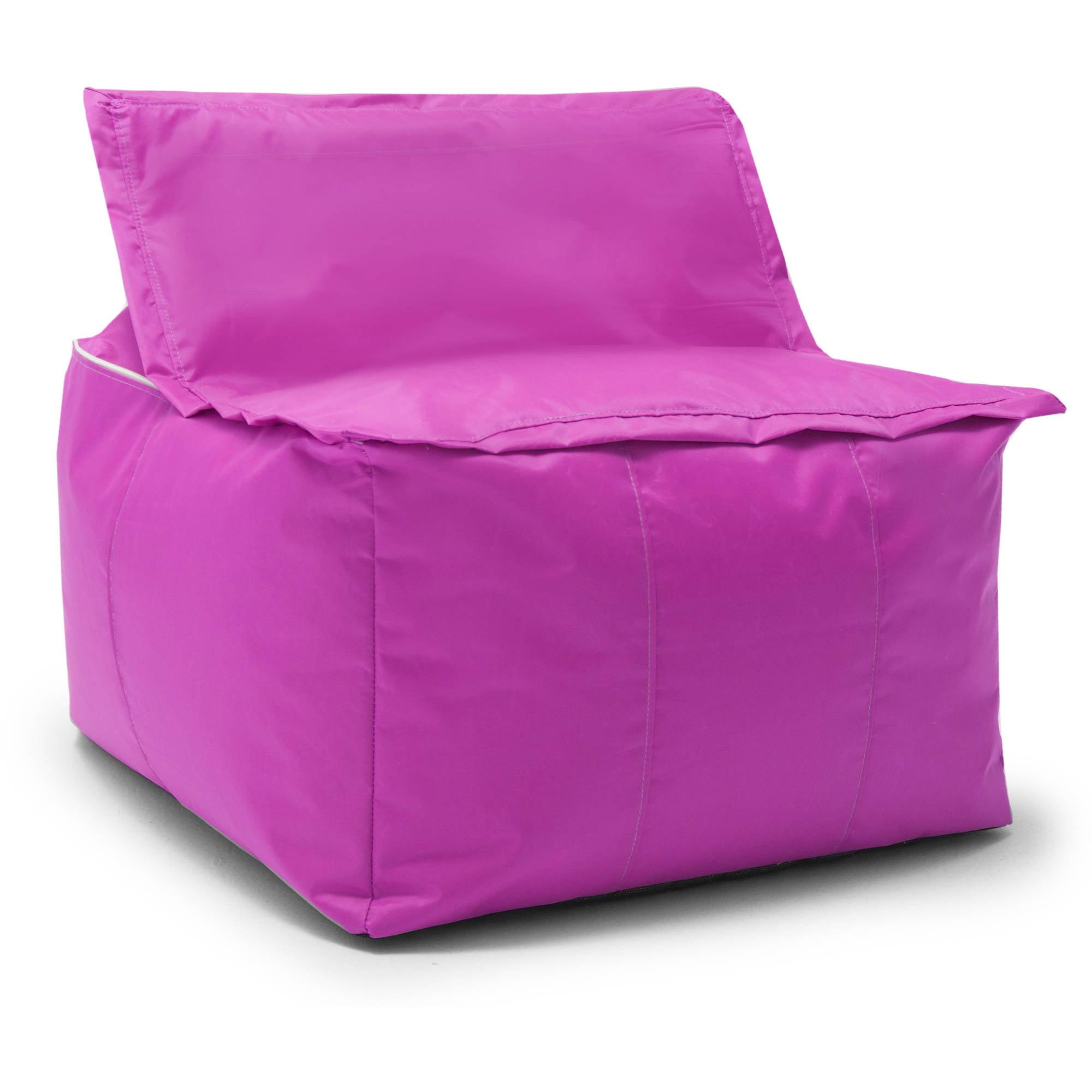 Admirable Unbranded Big Joe Zip Ottoman Fuchsia Supreme Andrewgaddart Wooden Chair Designs For Living Room Andrewgaddartcom