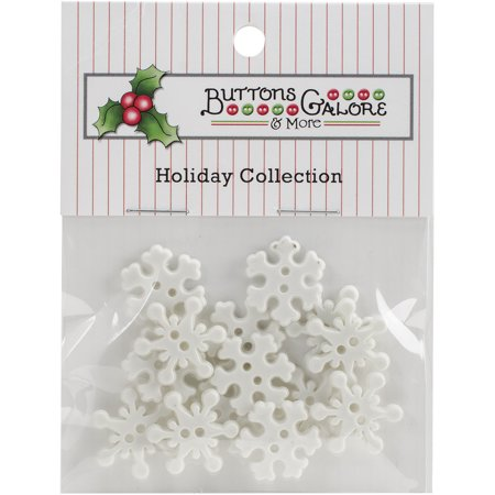 Button Theme Pack Snowflakes