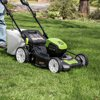 Greenworks Pro 80V 21-Inch Self-Propelled Cordless Lawn Mower, 5Ah Battery and Charger Included MO80L510