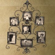 Adeco Trading 5 Opening Collage Metal Picture Frame