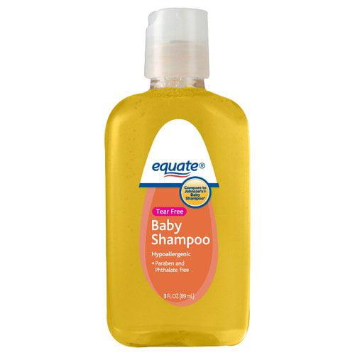 Equate Tear Free Baby Shampoo, 3 fl oz