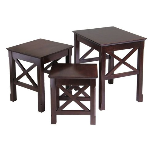 Winsome Wood 40333 Xola Tables Nesting Table, Cappuccino