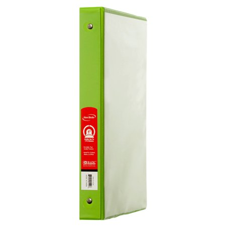 New 328377  Binder 1 Lime Green Color W / View (12-Pack) 1 Inch Cheap Wholesale Discount Bulk Seasonal 1 Inch Bud