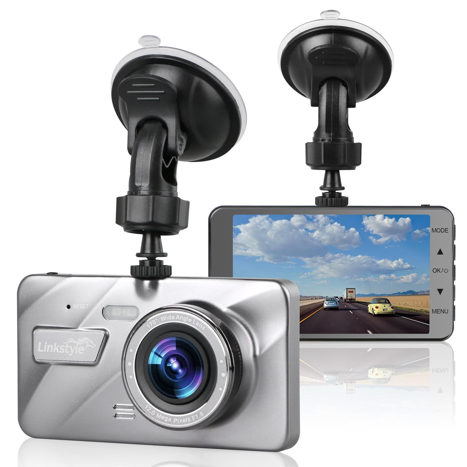 HD 1080P Dual Lens 4/'/' Car DVR Dashboard Video Camera Recorder Dash Cam G-Sensor