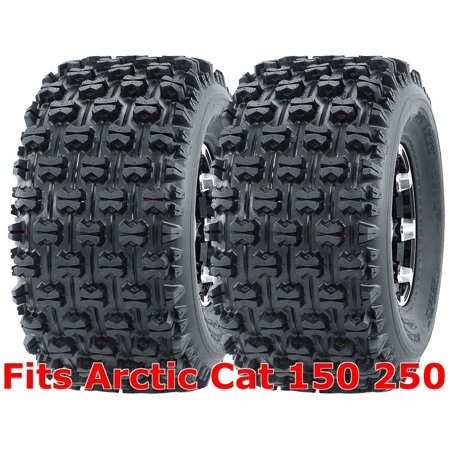 Set 2 WANDA Sport ATV Tires 22x10-10 Arctic Cat 150 250 Rear GNCC