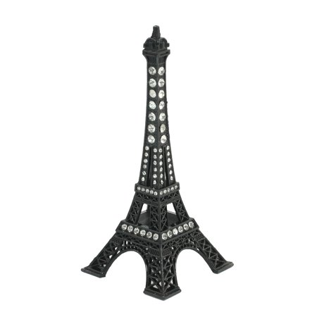 Black Clear 3D Metal Eiffel Tower Design Model Gift - Eiffel Tower Decorations