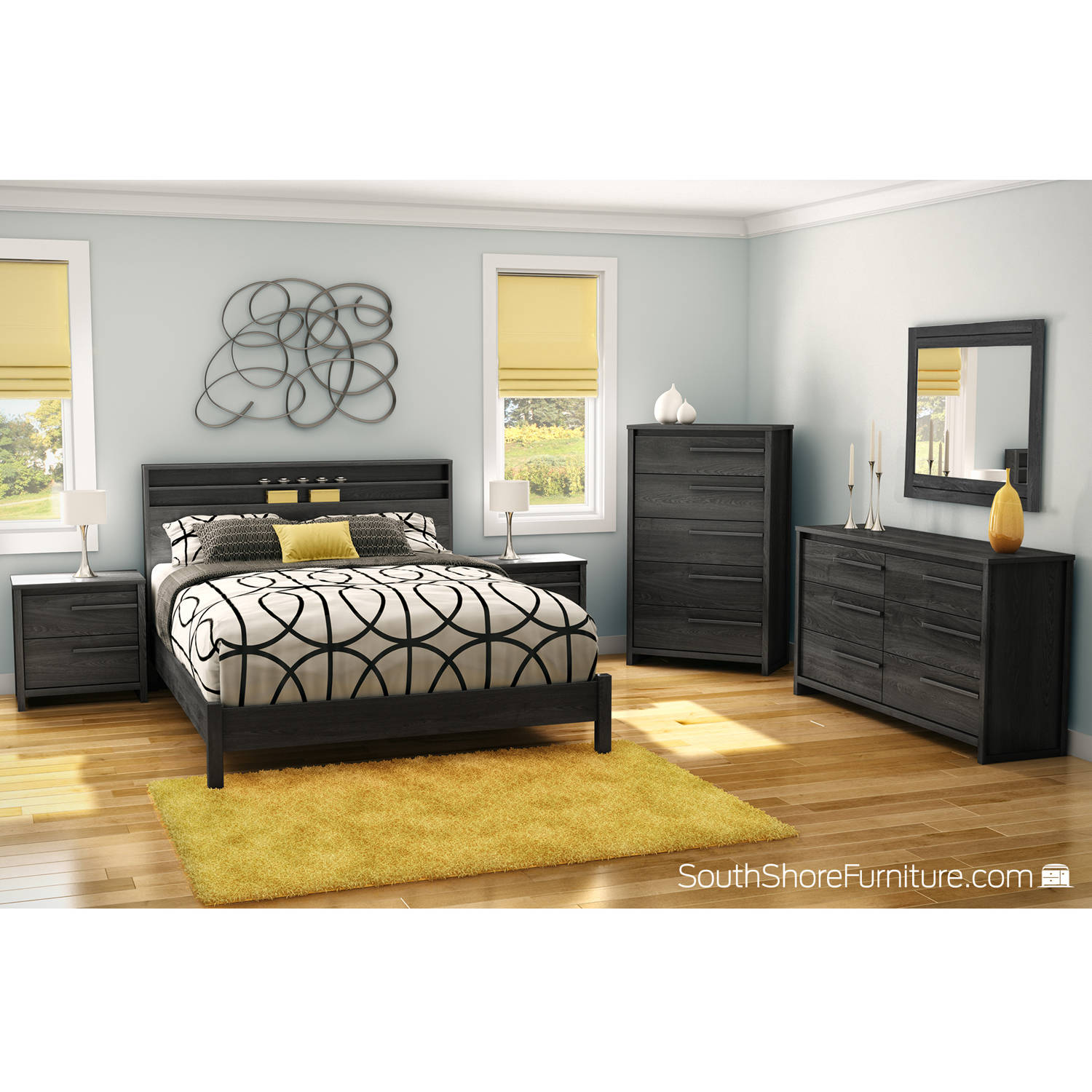 South Shore Tao Master Bedroom Furniture Collection