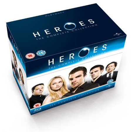 Heroes (Complete Series 1-4) - 18-Disc Box Set ( Heroes - The Complete Collection ) Blu-Ray Region (A Town Called Eureka Complete Box Set)
