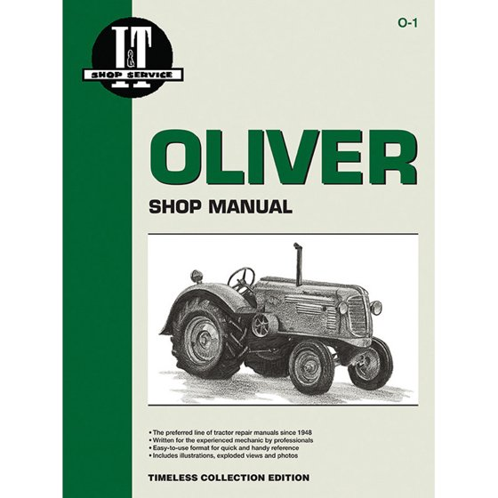 Service Manual For Oliver Tractor 60HC 60KD 70HC 70KD 80HC 80KD 90 on