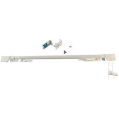 Piedmont A7004213192 Adjustable Heavy Duty Traverse Rod, 60 - 120 in L, White