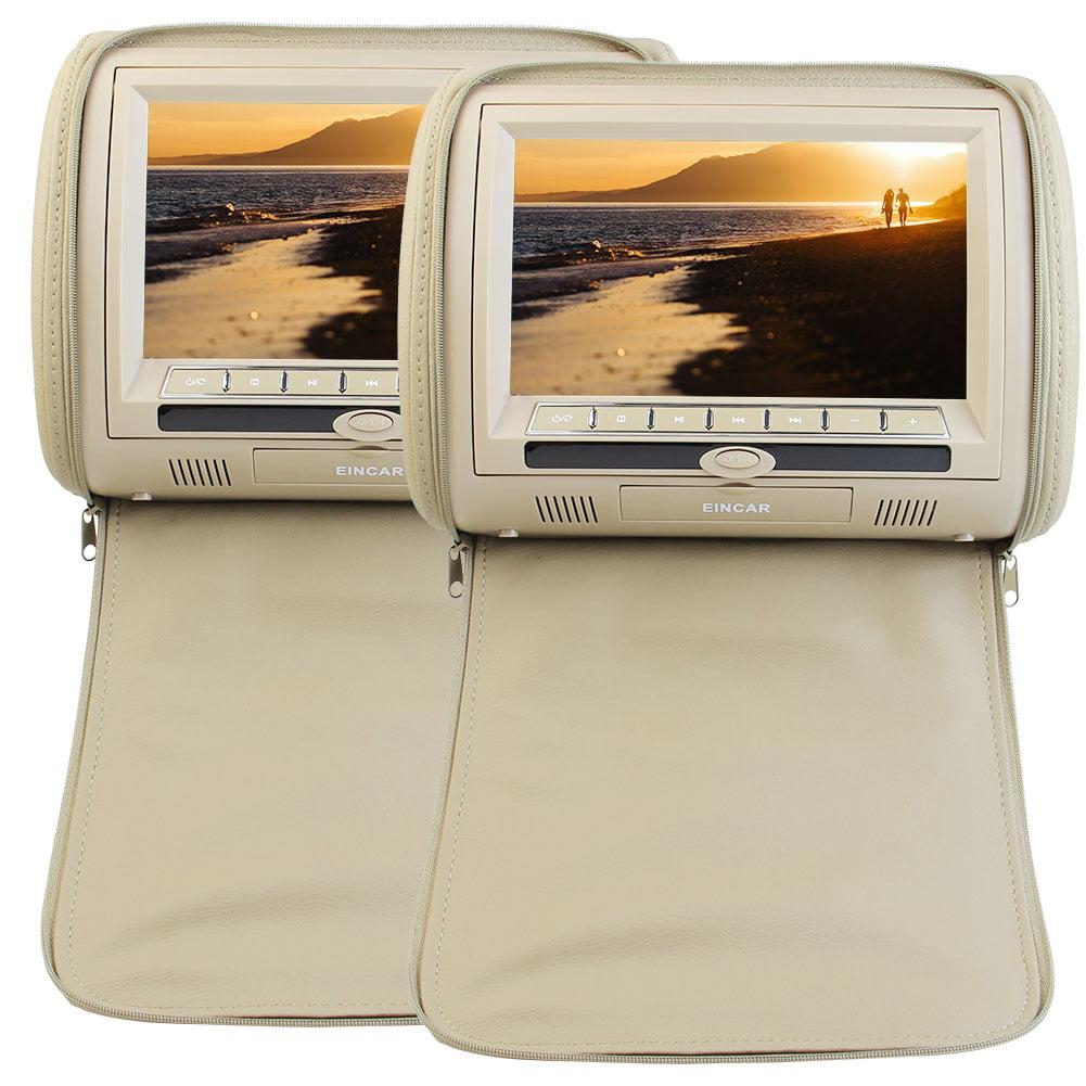 Eincar Universal Dual Screen 9-Inch Twin Mobile Car Headr...