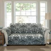 Aubree Furniture Protector, Black/white Sofa Couch Cover