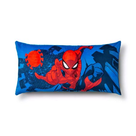Marvel Spiderman 36 x 18 Body Pillow Body Room Linen Pillow