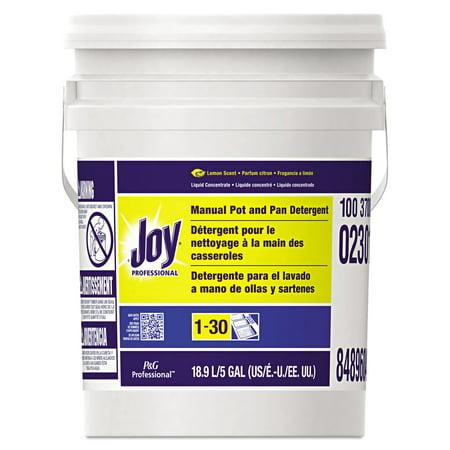 Joy Dishwashing Liquid, Lemon, Five Gallon Pail - PGC02301 Dishwashing Liquid Gallon
