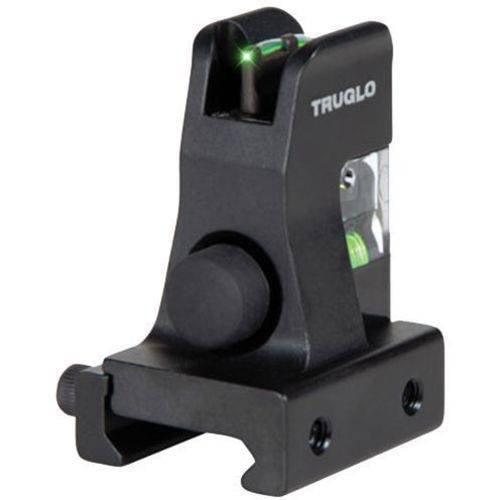 Truglo TG115 AR15 Green Fiber Optic Front AR-15, Black