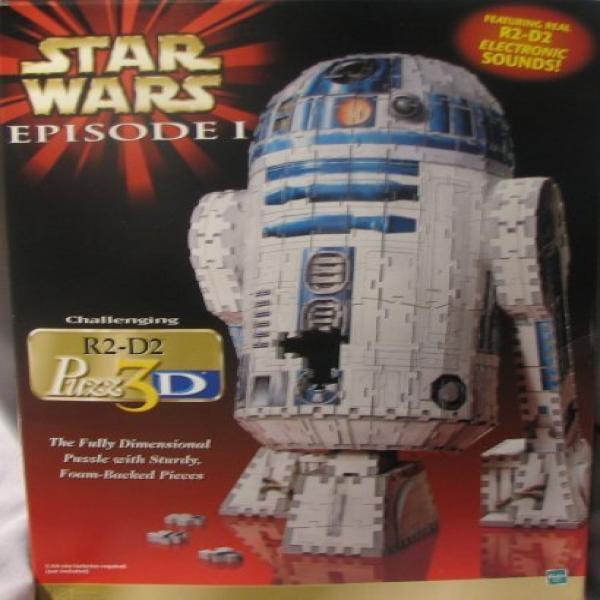 Star Wars Episode 1 R2-D2 3D Puzzle by