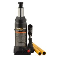 Omega 10065b black hydraulic bottle jack, 6 ton capacity