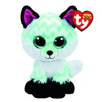 Product Image TY Beanie Boo Medium Piper the Chevron Fox Plush Toy  (Claire s Exclusive) a0811075ea2a