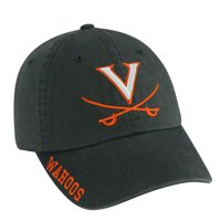 Virginia Cavaliers Charcoal Washed Hat