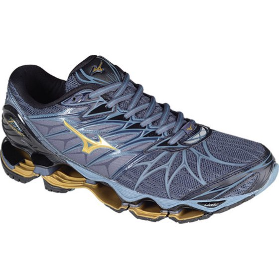 pretty nice 3c787 e7afb AIRMesh Upper Dynamotion Fit X10 Outsole Infinity Wave Plate U4icX Strobel  Lasting Board. Men s Mizuno Wave Prophecy 7 Running Shoe