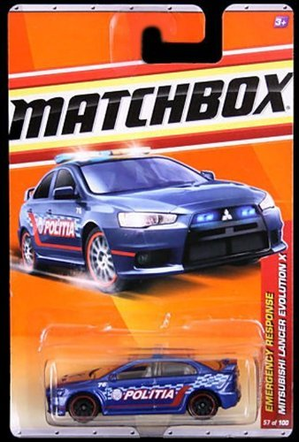 2010-2011 BLUE police MITSUBISHI LANCER EVOLUTION X emergency response 9 of 11, #57 of... by