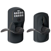 Schlage Fe595-Ply-Acc Keypad Entry Lock Leverset