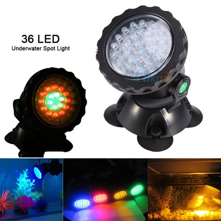 36Led Submersible Spotlight Landscape Lamp For Aquarium Fountain - Submersible Lights