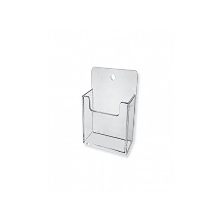 """VERTICAL WALL BUSINESS CARD HOLDER (6), INSIDE POCKET SIZE: 2 3/8""""w x 7/8"""" Deep By Marketing Holders Ship from US"""