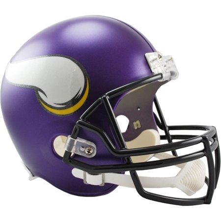 Viking Helmet Football (Riddell Minnesota Vikings VSR4 Full-Size Replica Football)