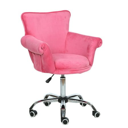 Magshion Deluxe Microfiber Office Desk Chair Bar stool Beauty Nail Salon Spa Vanity Seat (Deluxe Office Posture Chair)