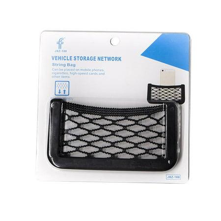 Car Mobile Phone Bag Car Storage Bag Storage Bag Paste Type Car Net Bag - image 1 de 7