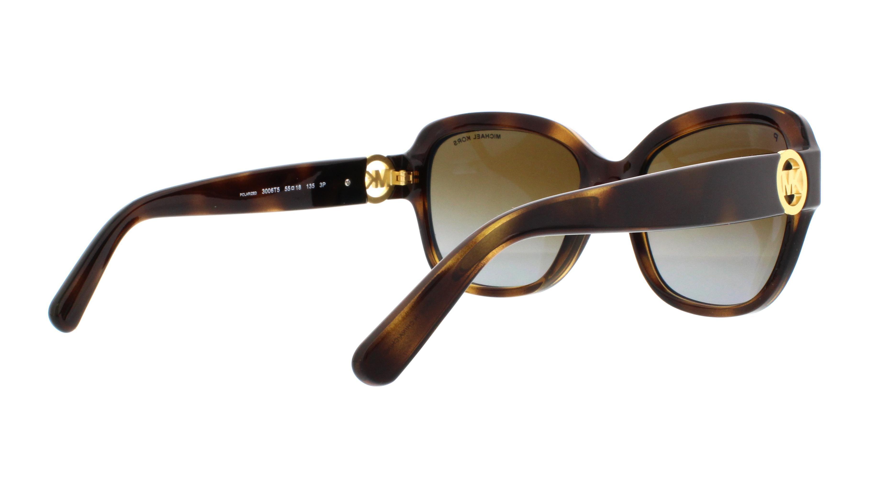 23912723b4 Michael Kors - MICHAEL KORS Sunglasses MK 6027 3006T5 Dark Tortoise 55MM -  Walmart.com