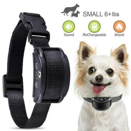 Anti Bark No Barking Training Collar Alarm Shock Control For Small Medium Dog ()