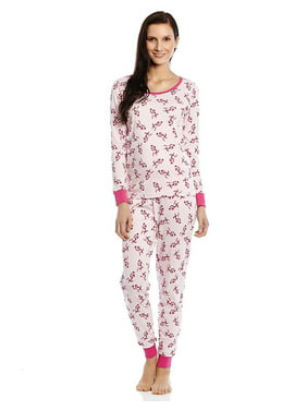325218460f Product Image Leveret Women 2 Piece Pajama Set 100% Cotton Monkey X Large